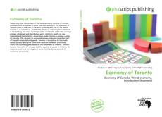 Bookcover of Economy of Toronto
