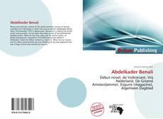 Buchcover von Abdelkader Benali