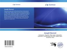 Bookcover of Joseph Bonnet
