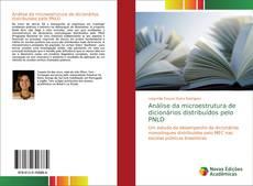 Обложка Análise da microestrutura de dicionários distribuídos pelo PNLD