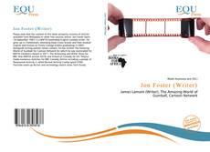 Bookcover of Jon Foster (Writer)