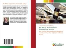Capa do livro de As Metas do Conselho Nacional de Justiça