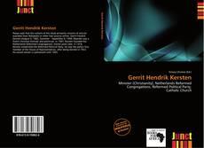 Capa do livro de Gerrit Hendrik Kersten