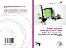 Buchcover von Arrondissement Administratif de Malines