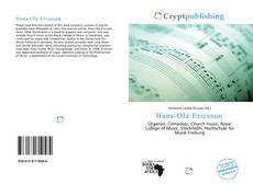 Обложка Hans-Ola Ericsson