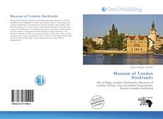 Museum of London Docklands kitap kapağı
