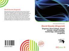 Обложка David Goode (Organist)