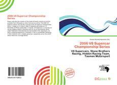 Capa do livro de 2006 V8 Supercar Championship Series