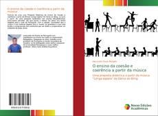 Bookcover of O ensino da coes?o e coerência a partir da música