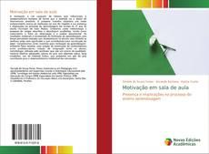 Capa do livro de Motivação em sala de aula