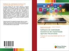 Обложка Software de viabilidade econômica de implantação agrícola mecanizada