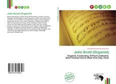 Обложка John Scott (Organist)
