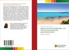 Portada del libro de Águas termais da Montipa, um recurso com diversos aproveitamentos