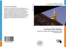 Les Rues-des-Vignes kitap kapağı