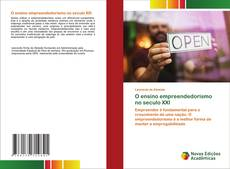 Capa do livro de O ensino empreendedorismo no seculo XXI
