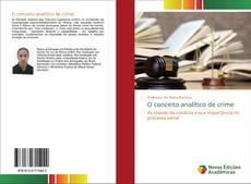 Capa do livro de O conceito analítico de crime