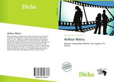 Bookcover of Arthur Weiss