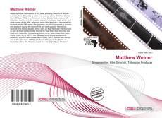 Matthew Weiner kitap kapağı