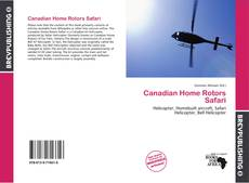 Capa do livro de Canadian Home Rotors Safari