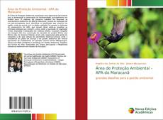 Capa do livro de Área de Proteção Ambiental - APA do Maracanã
