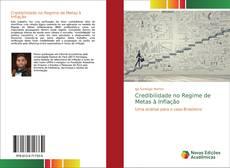 Capa do livro de Credibilidade no Regime de Metas à Inflação