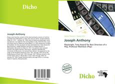 Bookcover of Joseph Anthony