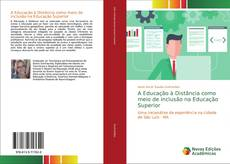 Capa do livro de A Educação à Distância como meio de inclusão na Educação Superior