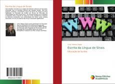 Bookcover of Escrita da Língua de Sinais