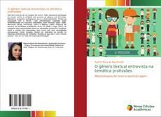 Buchcover von O gênero textual entrevista na temática profissões