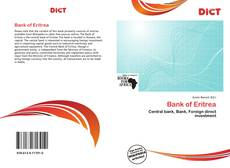 Capa do livro de Bank of Eritrea