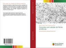 Capa do livro de Concreto com adição de fibras sintéticas