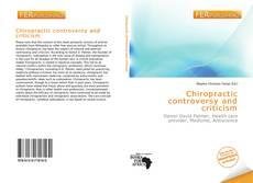 Capa do livro de Chiropractic controversy and criticism