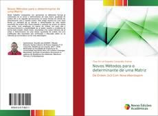 Capa do livro de Novos Métodos para o determinante de uma Matriz