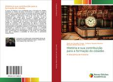 Capa do livro de História e sua contribuição para a formação do cidadão