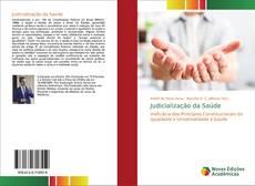 Capa do livro de Judicialização da Saúde
