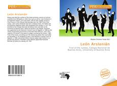 León Arslanián kitap kapağı