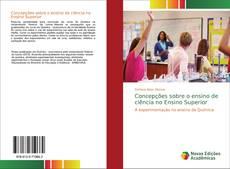Capa do livro de Concepções sobre o ensino de ciência no Ensino Superior