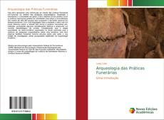 Capa do livro de Arqueologia das Práticas Funerárias