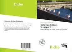 Bookcover of Coleman Bridge, Singapore