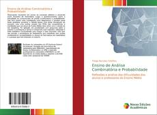 Capa do livro de Ensino de Análise Combinatória e Probabilidade