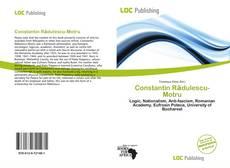 Portada del libro de Constantin Rădulescu-Motru