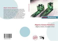 Bookcover of Algeria–Greece Relations