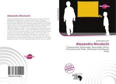 Capa do livro de Alexandru Nicolschi