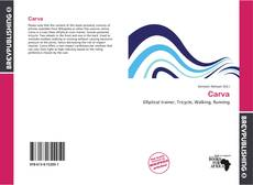 Bookcover of Carva