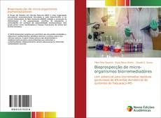 Bioprospecção de micro-organismos biorremediadores kitap kapağı