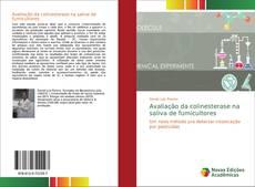 Capa do livro de Avaliação da colinesterase na saliva de fumicultores