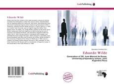 Capa do livro de Eduardo Wilde