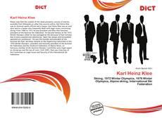 Karl Heinz Klee的封面