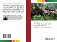 Capa do livro de Direitos Indígenas e Poder Judiciário no Brasil