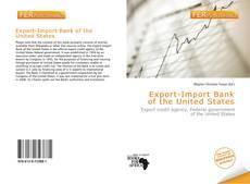 Portada del libro de Export-Import Bank of the United States